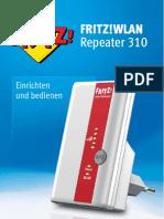 Handbuch FRITZ!WLAN Repeater 310