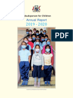 Rapport annuel de l'Ombudsperson 2019/2020