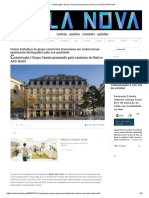 Construção _ Grupo Casais Premiado Pelo Restauro Do Bairro Alto Hotel VILA NOVA 15102020