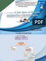 Principios del Sistema Contencioso Administrativo