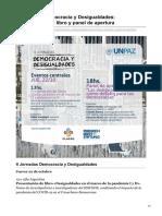 clacso.org-II Jornadas Democracia y Desigualdades Presentación de libro y panel de apertura (1)