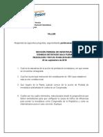 BORRADOR EJERCICIO EN CLASE - PERDIDA DE INVESTIDURA.docx