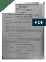 Notice of Violations (1) - GCDC