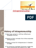 Intrapreneurship Ppt