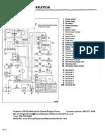 Kobelco SK330 Excavator Mitsubishi Engine Workshop Manual