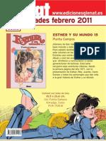 Novedades Glénat Febrero 2011 (Castellano)