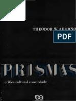 PRISMAS - crítica cultural e sociedade