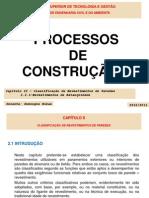 PCII_Capitulo_II_2.2.1_-_Classificacao_de_Revestimentos_de_paredes