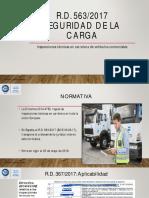 R.D. 563.2017 SEGURIDAD DE LA CARGA