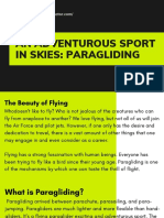 An Adventurous Sport in Skies_ Paragliding  | Compass Aviator