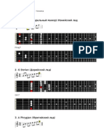 Mods of major scale