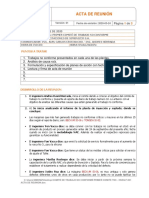 PRIMER COMITE TNC - HSEQ-F-001 ACTA DE REUNION