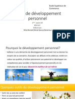 cours développement personnel  niv1