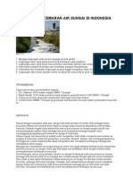 Download MAKALAH PENCEMARAN AIR SUNGAI DI INDONESIA by Avisa Radhila SN48032134 doc pdf