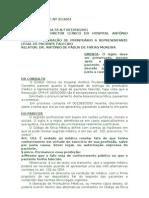 LIBERAÇÃO DE PRONTUÁRIO A REPRESENTANTE LEGAL DE PACIENTE FALECIDO