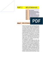 SAP PP DICRETE MANUFACTURING PART 1 STEP 2 BILL OF MATERIAL BOM