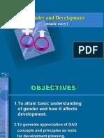 GAD advocacy awareness