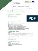 Ficha classificação de acidentes