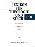 Lexicon für Theologie und Kirche 7 [Maximilian bis Pazzi]