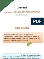 SISTEMA DE ORGANIZACION ADMINISTRATIVAInt