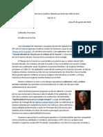 Carta de la Comisión