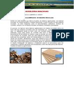 TABLEROS AGLOMERADOS de madera reciclada PROCESOS I.