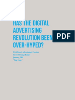 Has the digital advertising revolution been over-hyped?