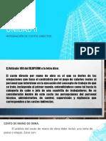 UNIDAD II COST Y PRES D PROY ELEC IEM