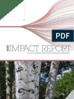 2020 Impact Report & 2019 Aspen Institute Annual Report