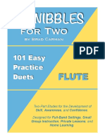 01 - SCHNIBBLES for Two_ 101 Easy Practice Duets for Band_ FLUTE