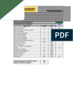 PROGRAMA DE MANTENIMIENTO F4X-843 - ORDEN TRABAJO