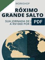 O PRÓXIMO GRANDE SALTO (Agosto 2020)