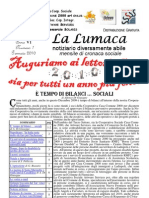 1) La Lumaca Gennaio 2010