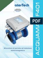 P-0000010 MEDIDOR ACQUAMAG F401 WATERTECH