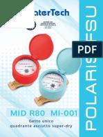 P-0000013 MEDIDOR POLARIS FSU AGUA CALIENTE WATERTECH