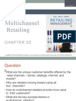 Chap 3 - Multichannel retailing