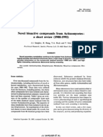 Bioactive compounds from actino 93 - printed