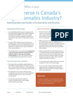 How Diverse is Canada's Legal Cannabis Industry CDPE UofT Policy Brief Final