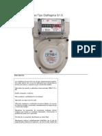 Medidores de Gas Tipo Diafragma G1