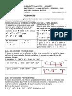 TALLER DE MATEMÁTICAS N° 3 DEL GRADO OCTAVO  - 3 PERIODO- 2020