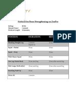 Osteoporosis Protocol - ZenPro