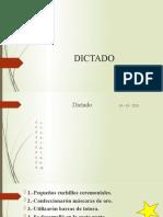 dictado - martes personal 13
