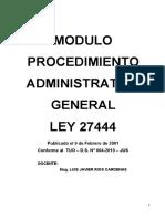 Proced. Adm. Modulo I