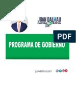 Programa de Gobierno - Juan Dalmau