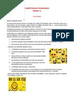 COMPETENCIAS CIUDADANAS 11