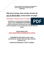 Trabalho - Magalu (31)997320837