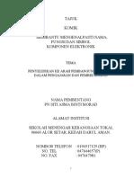 Kajian Tindakan Asma Morad