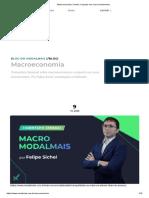Macroeconomia _ Confira o impacto nos seus investimentos