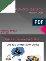 COMPUTACIÓN GRAFICA