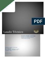 LAUDO DA ESTRTURA METÁLICA POSTO FREE CENTER